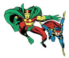 Mr Miracle Big Barda by marvinsafro
