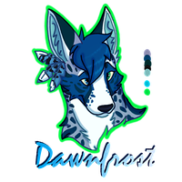 Dawnfrost Headshot by MeanCheen