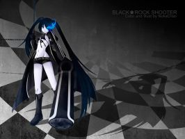 Black Rock Shooter by NokaChan