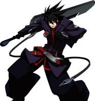 BB CG Recolor: Ragna by darkside-ky