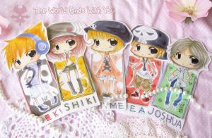 TWEWY Bookmark Set by Kaiami