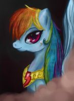 Rainbow Dash - loyalty by yuki139