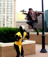 Scorpion Vs Dr Who by DirtyColumbus