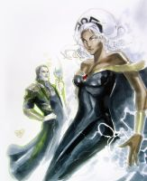 Storm has always been a goddess to loki by Peter-v-Nguyen
