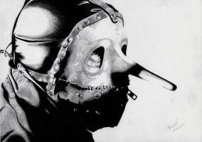 Chris Fehn - Slipknot by DeadKnos