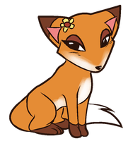 Fox by Mole-Chan