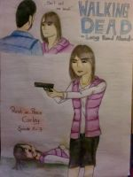 The Walking Dead Game - Carley by Livvy-san