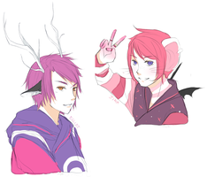 Jinx It Up! Oh and there's Elliot there too by seyuri