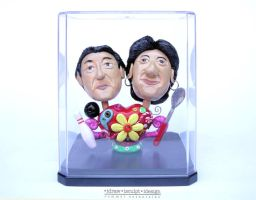 Mr and Mrs SY Clayricature by Dinuguan