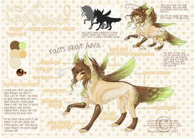 FURSONA : Aeva's ref sheet. by nebulAeva
