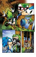 Sonic Sample Page 2 colored by culdesackidz