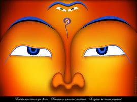 Spiritual Illustration :Buddha by BudhuFakir