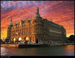 Haydarpasa Train Station by WhiteWay