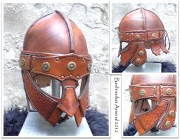 Helm of Skar Bloodhand by baehrserker