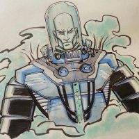 DC 52 Weekly Sketch - Mr. Freeze by PhillipQHudson