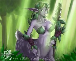 Warcraft 3 Dryad by thelaserhawk