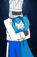 GHS Manga - Waitress Laina in Heaven Chef's Arms by dannichangirl