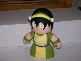 Toph - The Mighty Mugg by WarriorSokka