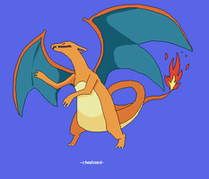 Charizard 006 by juenavei