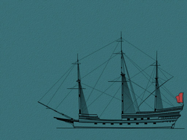Spanish Galleon 21 wallpaper 1152x864 by Pasteljam
