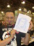 Nathan Blackwell with Quick drawing by Poorartman