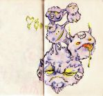 Weezing by Quilsnap