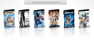 PSP Game Covers - Pack 2 by isa-pinheiro