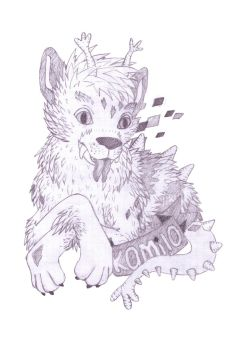 Kamilo badge line work by coloralchemy