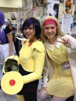 Honey Lemon and Gogo Tomago by WarriorNun