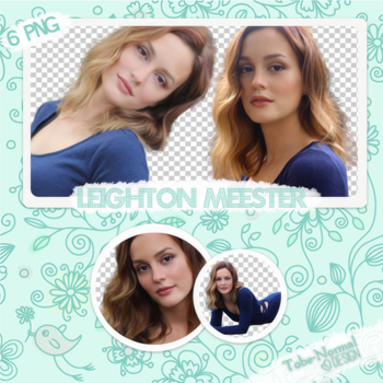 Leighton Meester PNG Pack by tobe-normal