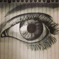 Realistic Eye by ScatterHeartz