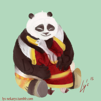 Kung Fu Panda ~ Father and son by Ly-s