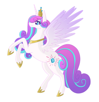 Flurry Heart by TeaganLouise