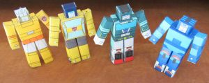 Even More Autobots HAKO by aim11