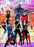 Old Work The X-men by xxxphx