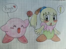 Kirby and Fumu by Tarulimint