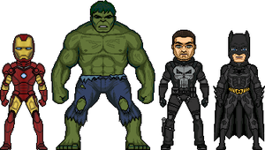 The Heros of 2008 by MicroManED