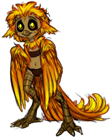 Little Harpy by AccursedAsche