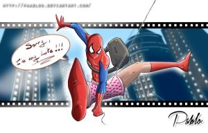 Spidey Is To Late by PAabloO