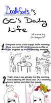 OC's Daily Life Meme by DoodleSoul