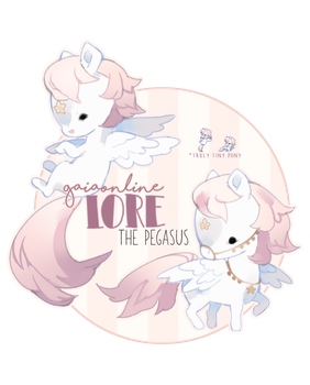 [GaiaOnline] Lore the Pegasus by himehorse