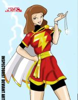 Young Justice Mary Marvel by Inspector97