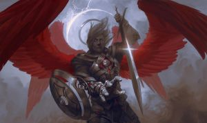 Kickstarter Playmat by PeteMohrbacher