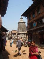 Streets of Bhaktapur 03 by Woolfred