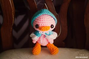 Laurie the Duckie Amigurumi (Pattern Test) by adorablykawaii