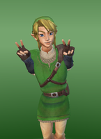 Green Link by JaymeBear