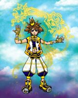 Sora the Key Of Light by silverbeam