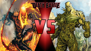 Ghost Rider vs Swamp Thing by Dynamo1212