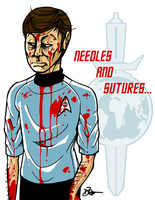 Mirror: Needles and Sutures by enterprising-bones