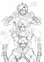 One Two Three by namielric